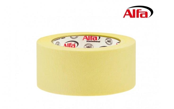 Ruban adhésif de masquage en papier crépon de grande qualité pour bordures