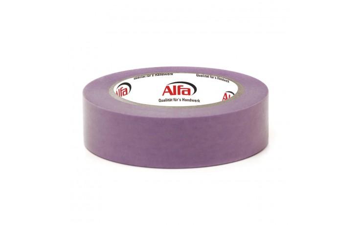 513 ALFA - FineLine SOFT - ruban adhésif de masquage ultra fin, peu collante, pour surfaces très délicates telles: tapisseries, papiers et platre