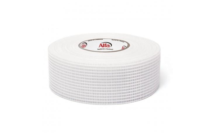 545 ALFA – Ruban adhésif avec grille de renforcement intégré - en fibres de verre, pour les joints des plaques de platre