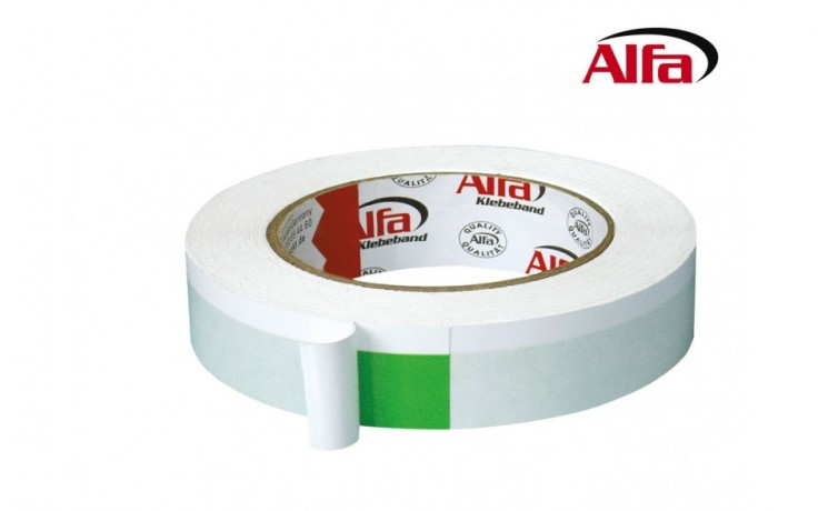 550Alfa®DUO (autocollante double-face) pour fixer les films de protection.