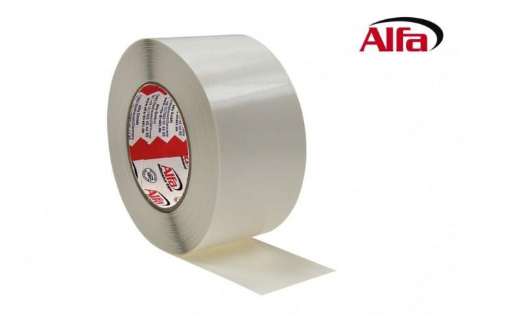 577 ALFA Trennfix ruban adhésif en papier avec enduit spécial, et une bande de colle sur le rebord.