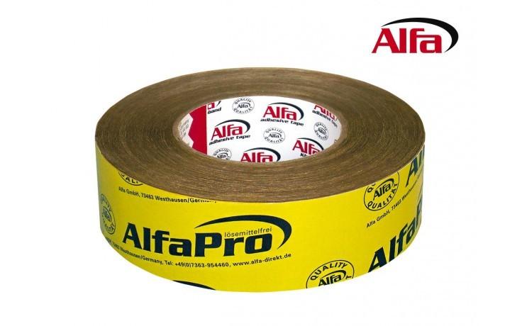 161 ALFA Pro - Adhesif d' étachéité BBC pour membrane pour joints hermétiques ultra performant - jaune