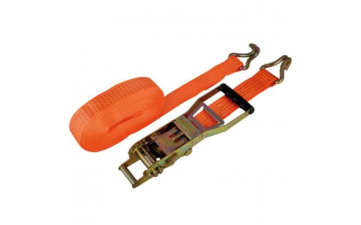 Sangle de amarrage pour professionnels avec levier à cliquet ergonomique