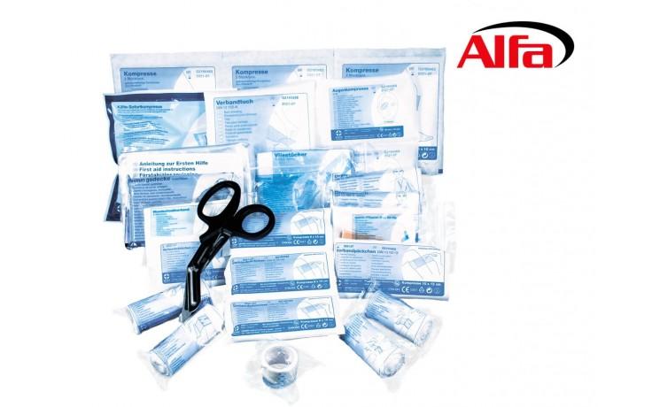732N ALFA Set de recharge pour coffre premiers secours DIN 13 157