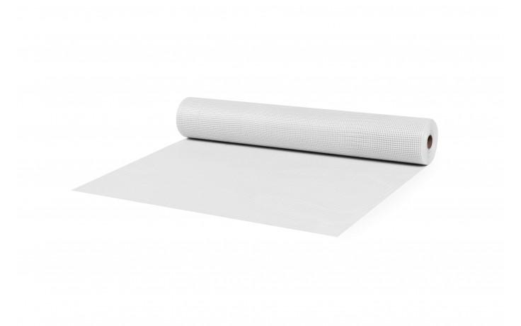 Tissu en fibres de verre enduit résistant aux alcalis avec 105 g / m²