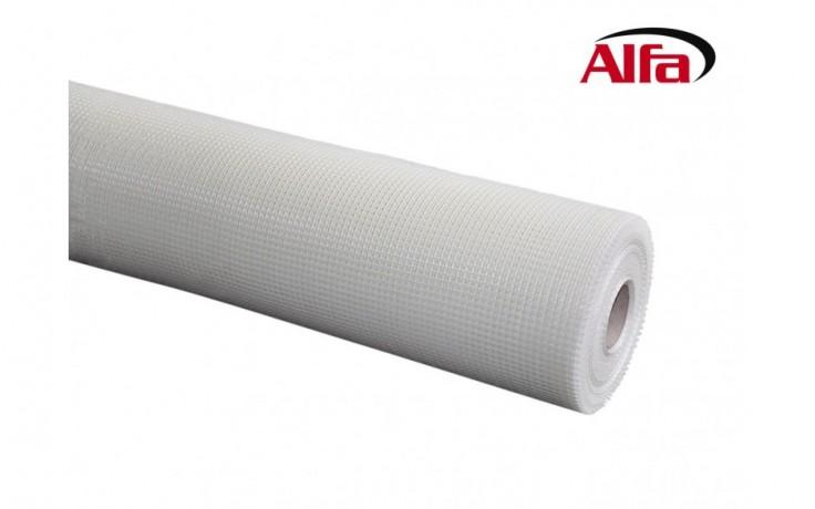 538 ALFA - Treillis renforce en fibre de verre 210 g/m² isolation thermique (ITE) - Blanc