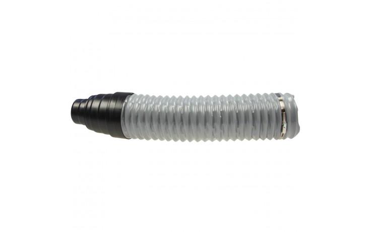 Tuyaux flexible en PVC pour ventilation DN 112 avec réducteur