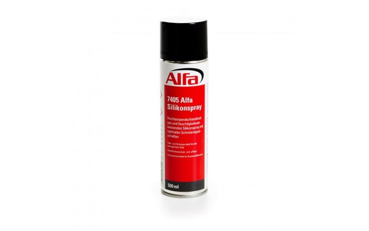 Spray de silicone résistant aux hautes températures et hydrofuge avec des propriétés lubrifiantes optimales