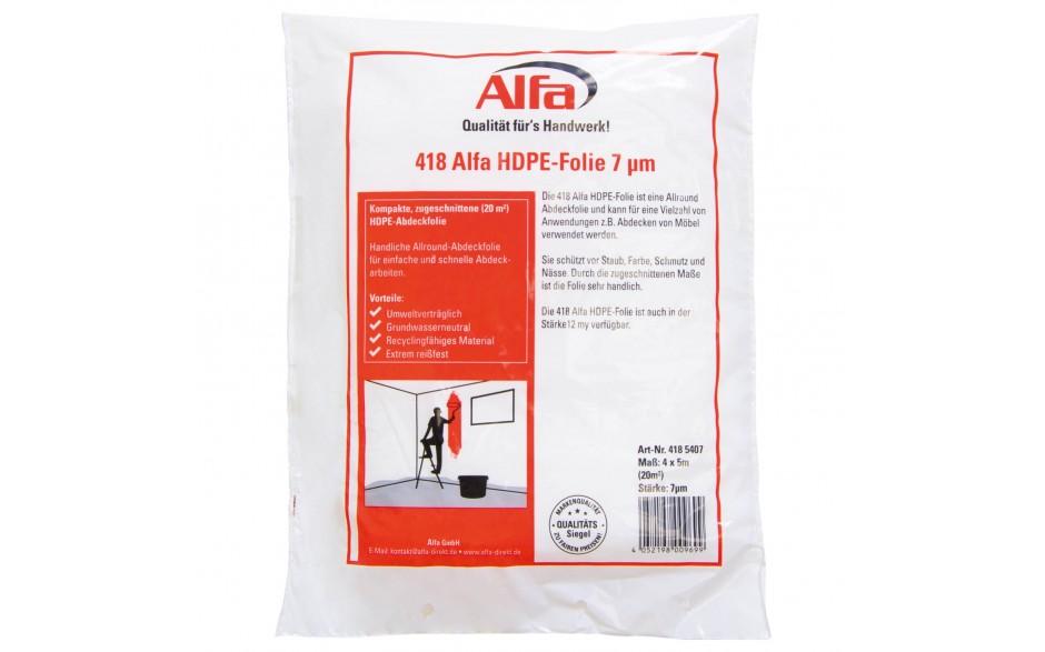 418 alfa b che protection peinture en hdpe 7 m 12 m. Black Bedroom Furniture Sets. Home Design Ideas
