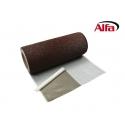 Ruban adhésif extensible pour chevauchement en aluminium stretché et entièrement revêtu de butyle.