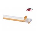 530 ALFA Profilé avec rail et lèvre de protection autocollante