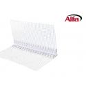 534 ALFA - Cornière d'angle en PVC dur avec trame «WDVS / ITE»