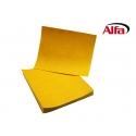 Feuilles papier abrasif, flexible et indéchirable