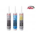 850 ALFA Mastic - Silicone N pour toits / charpentes - intérieur / extérieur