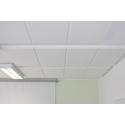 Panneau d'isolation acoustique ignifuge et résistant à la lumière en mousse de résine mélamine avec chanfrein
