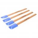 4 spatules professionnelles différentes pour le jointoiement dans les endroits difficiles d'accès