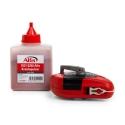 Cordeau traceur avec boitier en magnésium moulé sous pression, rapport 5 :1 et poudre de craie