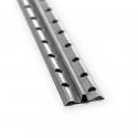 Profil d'enduit rapide particulièrement stable pour égaliser les irrégularités ou pour un enduit rapide, régulier et sûr des murs et des plafonds.