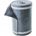 Bâche de protection en tissu pour marches d´escaliers avec film et ruban adhésif, hygroscopique, absorbante