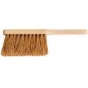 Balayette en poils naturels de bois de cocos pour surfaces sèches