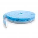 Bande d'isolation élastique avec support intégré en mousse Haute Densité et bande auto-adhésive