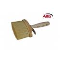 Brosse pour façades extrêmement robuste avec poignée en bois taillé