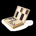 7 outils professionnels KOMBI dans un coffret en bois de haute qualité, y compris une pierre à aiguiser