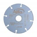 Disque à tronçonner en acier INOX incassable de haute qualité, avec revêtement diamant brasé sous vide