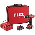 Visseuse et perceuse avec accu et 2 deux vitesses, 10,8V Original FLEX