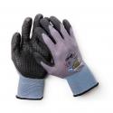 Gant de montage polyvalent en tricot fin avec picots à l'intérieur pour une prise particulièrement bonne.