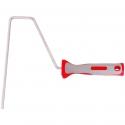 Poignée ergonomique bi composant pour rouleaux