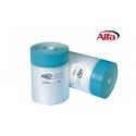Ruban en tissu extra large ultra stable avec film de protection dépliant