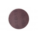 Meule à velcro avec structure de grille ouverte et grain de corindon