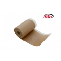 Ruban adhésif de masquage en crêpe imprégné avec papier de protection dépliant de 40g/m²
