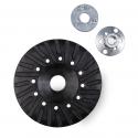Plateau de support Turbo pour disques fibre avec montage M14 et refroidissement optimisé