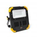 Projecteur LED à batterie avec haut-parleur Bluetooth intégré pour une qualité sonore optimale