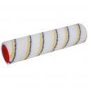 Rouleau special en Nylon pour pose étanchéité liquide - rayé bleu/jaune