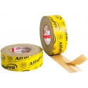 Ruban adhésif en papier ultra fixant - une face | jaune - intérieur