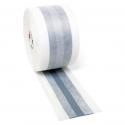 Ruban d'étanchéité avec joint de dilatation, durablement élastique, revêtu d'un matériau non tissé sur les deux faces