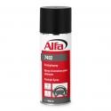 Spray d'entretien résistant aux hautes températures, sans silicone, avec effet antistatique et protection contre les rayons UV