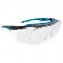 Sur-lunettes de sécurité à vision complète à poser par-dessus des lunettes de vue