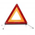 Triangle de signalisation rouge stable rouge compact selon la directive européenne
