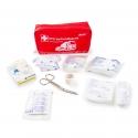 Trousse de premiers soins pratique et maniable avec fermeture éclair
