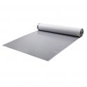 Membrane de toiture synthétique homogène (en VAE / EVA) avec combinaison tissu de verre / non-tissé sur la face inférieure comme protection contre l'incendie