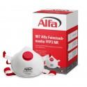907 ALFA - Masque poussières fines FFP3 (avec valve) pour amiante et fibres minérales