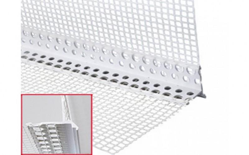 535 ALFA - Profilé d'arête d'égouttement en PVC rigide