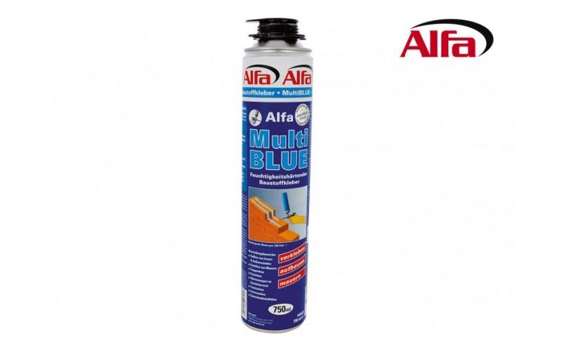 614 ALFA - MultiBLUE - Mousse adhésive matériaux de constructions