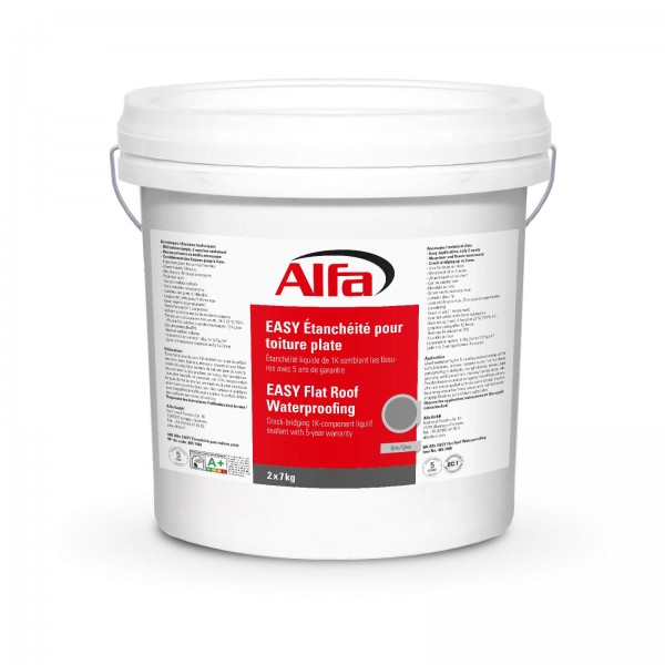 805 ALFA «EASY» Etanchéité toit plat mono composant - Membrane polymère liquide