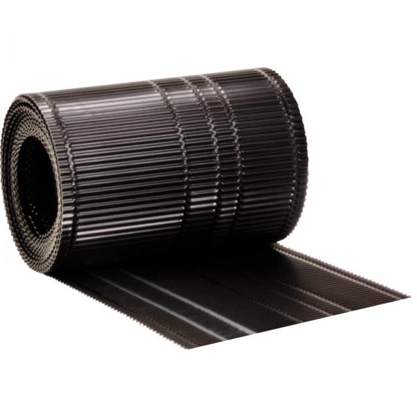 144 ALFA Bavette de gouttière «ALU noir»