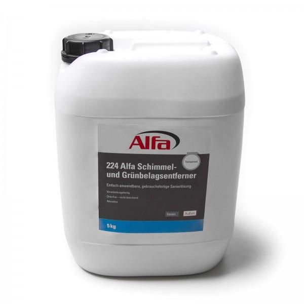 224 Solution d'assainissement Anti-mousse et anti-moisissures facile à utiliser et prête à l'emploi